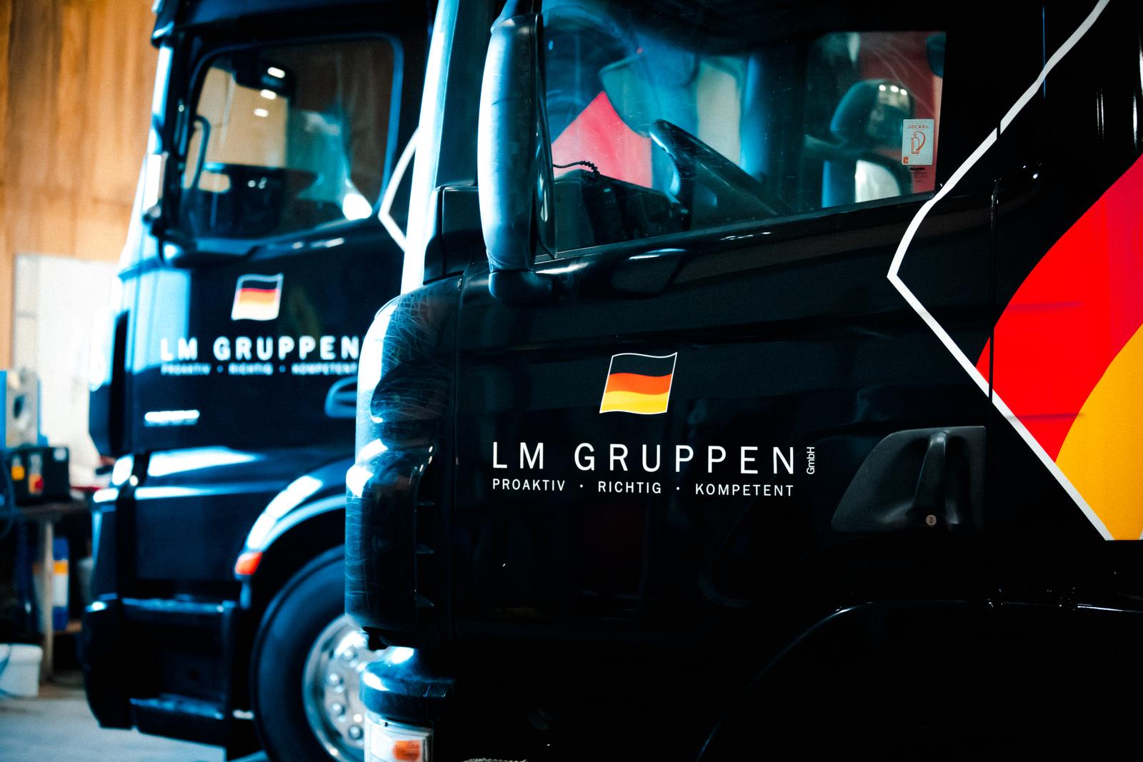 LM Gruppen - Lastbiler